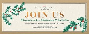 office holiday party online invitations evite com
