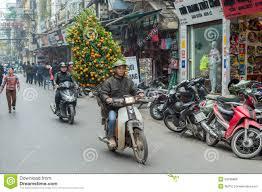 Vietnamese New Year Decorations chinese new year decorations in vietnam editorial stock photo
