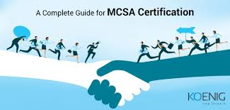 a complete guide for mcsa certification koenig it learning center