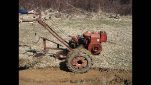 Walk Behind Seed Planter by Simplicity Vb Garden Tractor Plowing U0026 Disking Youtube
