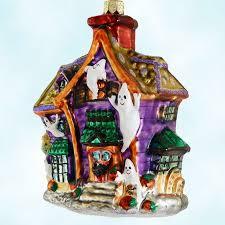 radko christmas ornaments howl manor halloween haunted house