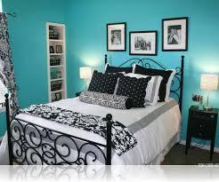 bedroom charming blue and black teenage bedroom design and