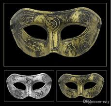 gold masquerade mask men s retro greco gladiator gold masquerade masks vintage