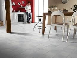 Kitchen Tile Flooring Designs by Gray And Brown Square Patterned Vinyl Floors Kitchen Flooringvinyl