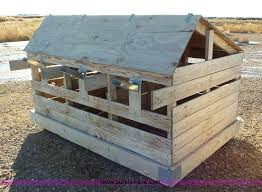 Calf Hutches For Sale 15 Wood Calf Hutches Item J8312 Sold February 19 Blis