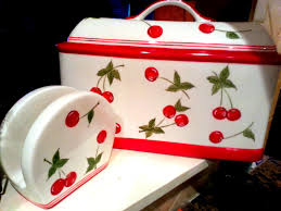 vintage ceramic bread and napkin holder all about