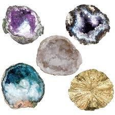 world u0027s best geode kit 15 real geodes to break open and discover