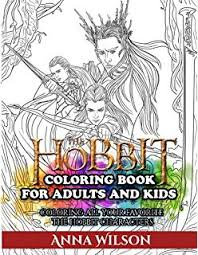 amazon hobbit movie trilogy heroes villains coloring
