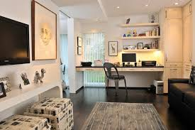 home office with tv tv above desk home office contemporary with built in cabinets
