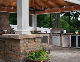 kitchen pre made outdoor grill island rustic outdoor kitchen diy