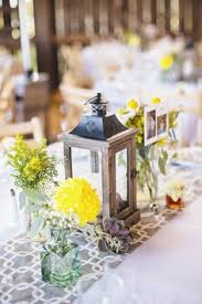 Diy Lantern Centerpiece Weddingbee by Copper Lantern Centerpieces Deer Pearl Flowers Inspiring Ideas