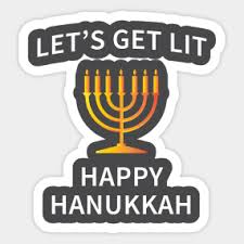 hanukkah stickers happy hanukkah stickers teepublic