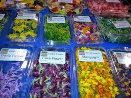edible flowers for sale top produce trends from pma fresh summit 2014