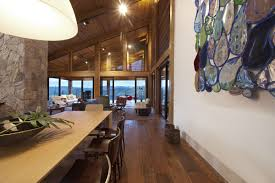 modern awesome design of the high end wooden house design that has