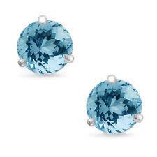 aquamarine stud earrings aquamarine stud earrings ebay