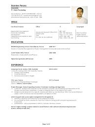 Fluent In English Resume