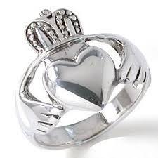 fenian ring large celtic unisex claddagh ring handcrafted sterling