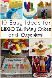 10 easy lego cupcakes birthday cake ideas tutorials