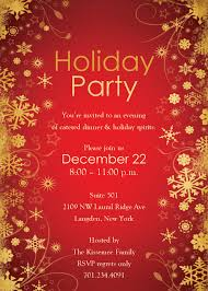 christmas party invitations templates free download rainforest