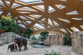 kaeng krachan elephant park shell architect magazine detail