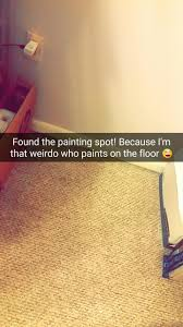 How To Get Paint Out Of Laminate Flooring So I Decided To Paint To Get Out Of Depression Album On Imgur