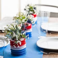 table decoration ideas easy table decorations for 4th of july independence day family