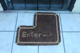 Geek Doormat 10 Geeky Floor Mats Gadgether