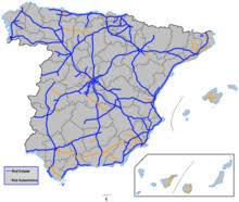 autostrady i drogi ekspresowe w hiszpanii wikipedia wolna