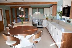inspiring contemporary walnut shaker kitchen and best kitchens