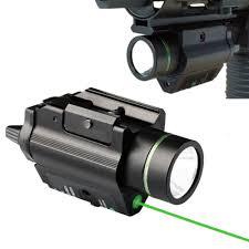 laser and light combo pistol light green laser combo sight 200 lumen for ruger p95 1911