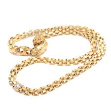 clasp gold necklace images 14k yellow gold panther link diamond necklace with panther head 0&amp