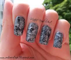 make nail art stone marble nails nail art tutorial