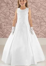 communion dresses linzi satin beaded communion dress white mcelhinneys