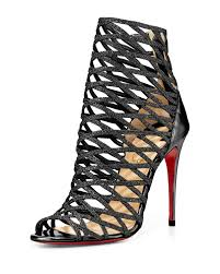 christian louboutin mille cinque in black lyst