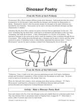 poetry lessons u0026 worksheets gallery of activities grades 3 5