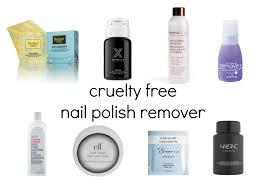 cruelty free nail polish remover beauty4free2u