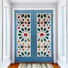 online get cheap wall stickers mural aliexpress com alibaba group 2 pcs set kaleidoscope glass wall stickers diy mural poster pvc waterproof 3d decal door