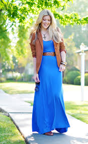 colorful long maxi dresses with elegant blazer ideas trends4us com