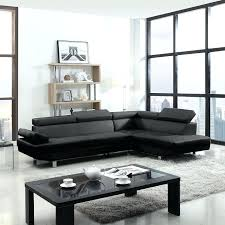 contemporary black sofa jasmine contemporary black bonded leather