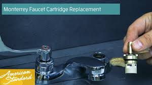 how to replace the cartridge for the monterrey faucet youtube