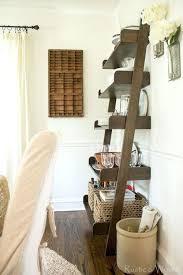 Desk Pottery Barn Bookcase Pottery Barn Leaning Bookcase Ladder Shelves Leaning