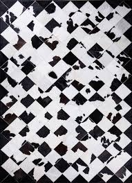 Cowhide Rug Patchwork Galloway Cowhide Rug By Mosaic Rugs Luxury Handcrafted Black