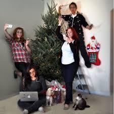 family card photo ideas merry
