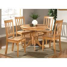 parawood furniture antique oak casual dining set the simple stores