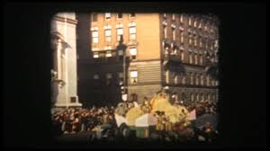 macy s thanksgiving day parade new york 1939 color 8mm