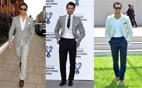 what do men wear to a wedding david gandy what to wear to a fashion show telegraph