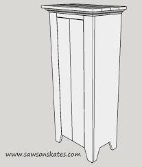 diy vintage style jelly cabinet