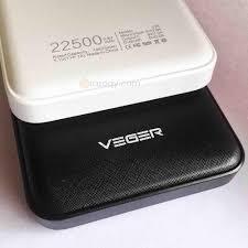 jual beli power bank veger 22500 mah v18 veger bukalapak com
