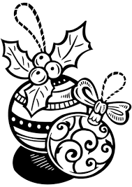 christmas ornaments coloring free printable coloring pages