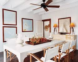Ceiling Fans For Dining Rooms A Look At 30 Dining Rooms In Vogue Vogue